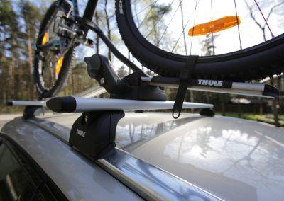 Uchwyt rowerowy na dach Thule