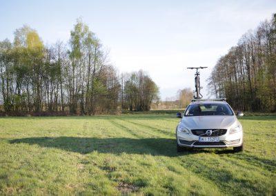 Uchwyt rowerowy na dach - Volvo V60CC